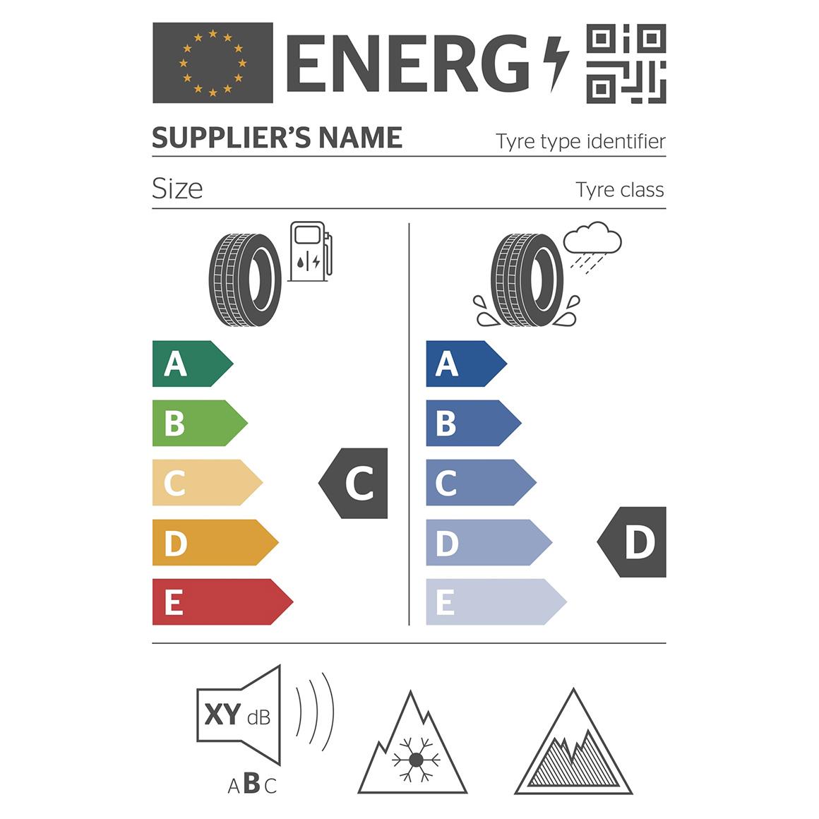 EU Tire Label Truck